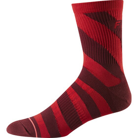 "Fox 6"" Trail Socks Men cardinal"